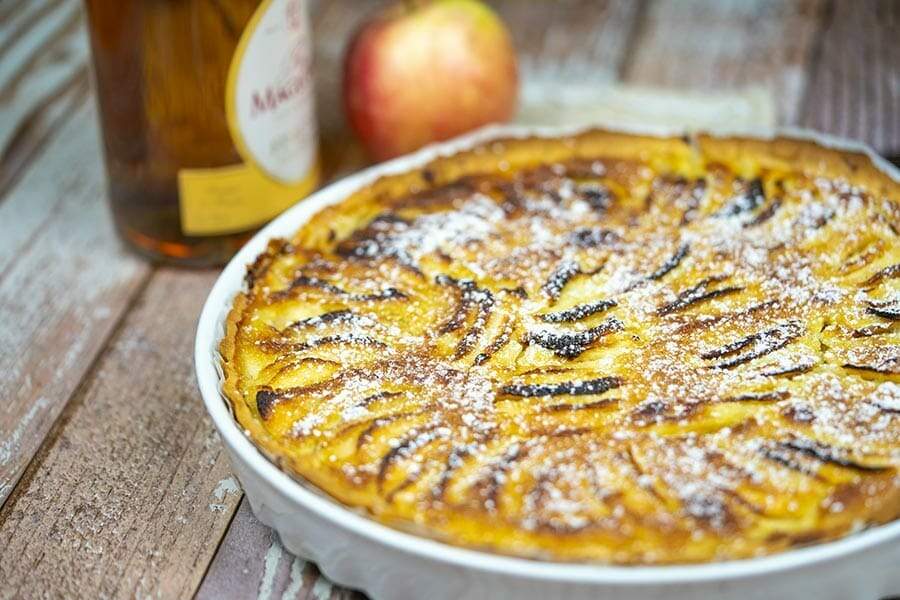 tarte normande aux pommes au thermomix cookomix. Black Bedroom Furniture Sets. Home Design Ideas