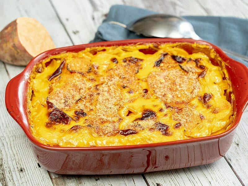 Gratin de patates douces au Thermomix
