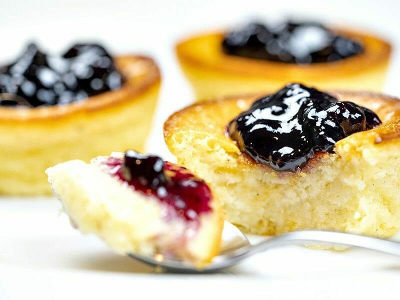 Mini cheesecakes express au Thermomix