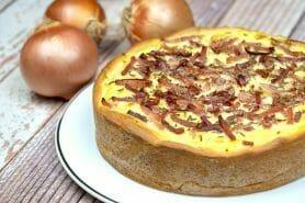 Zwiebelkuchen – gâteau aux oignons