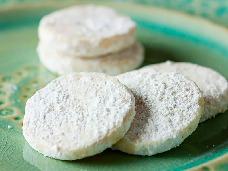 Biscuits fondants  au citron vert au Thermomix