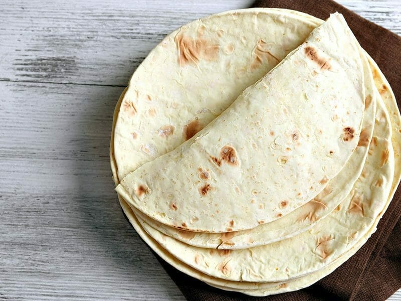 Tortillas de blé au Thermomix