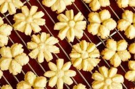 Sablés à la presse à biscuits au Thermomix