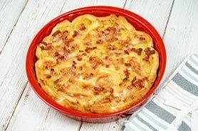 Tarte aux pommes de terre et lardons