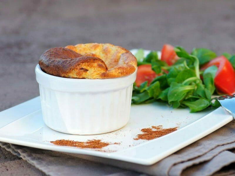 Soufflé au camembert et calvados au Thermomix
