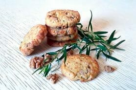 Cookies noix et roquefort au Thermomix