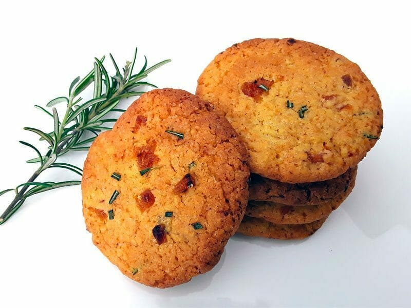 Cookies romarin et abricots au Thermomix