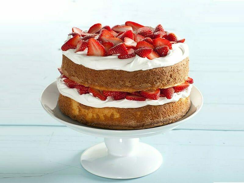 Shortcake aux fraises au Thermomix