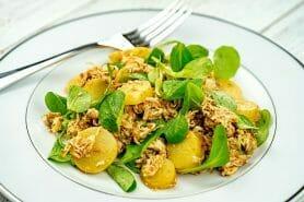 Salade de poulet au pesto rosso