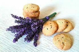 Cookies à la lavande au Thermomix