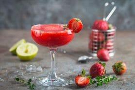 Daïquiri fraise au Thermomix