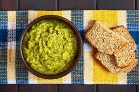 Tartinade de courgettes au Thermomix