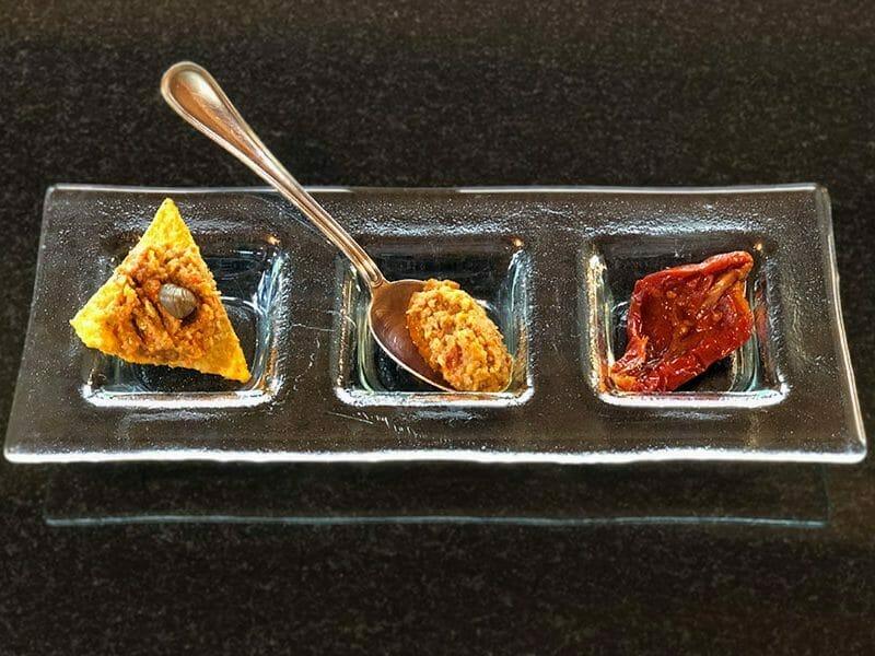 Tapenade de tomates séchées au Thermomix