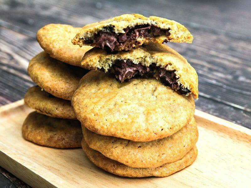 Cookies fourrés au nutella au Thermomix