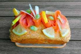 Cake aux deux saumons au Thermomix