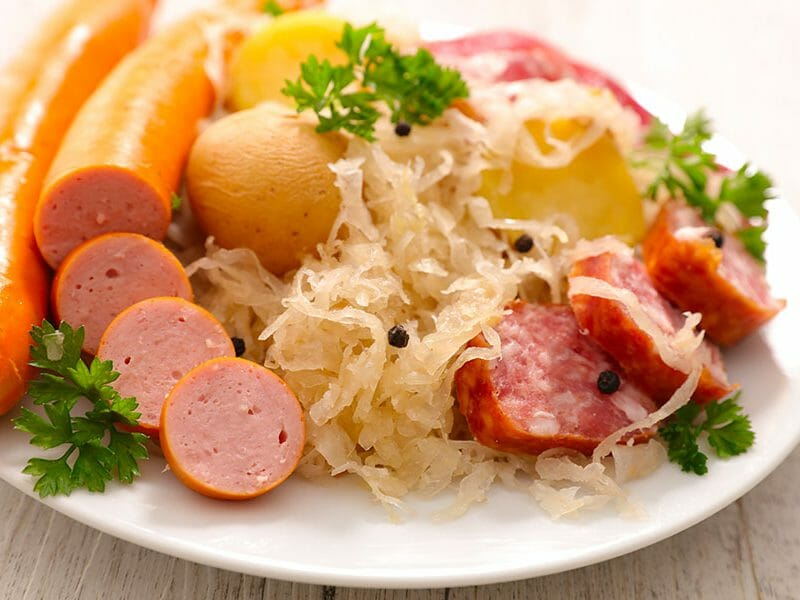 Choucroute express au Thermomix