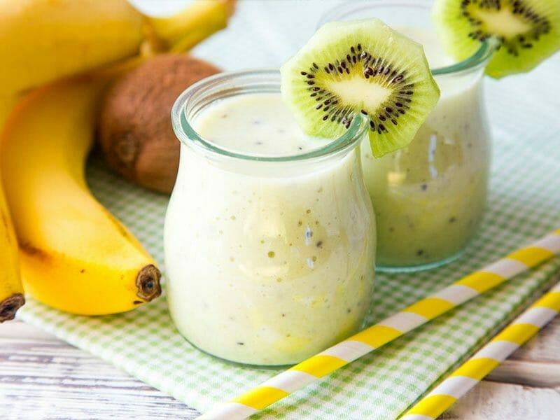 Smoothie banane kiwi au Thermomix