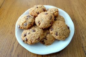 Cookies au pain rassis et pépites de chocolat au Thermomix