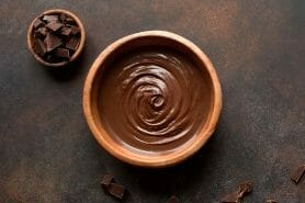 Ganache au chocolat noir au Thermomix