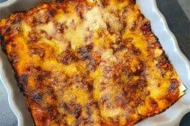 Lasagnes au poulet et poivrons au Thermomix