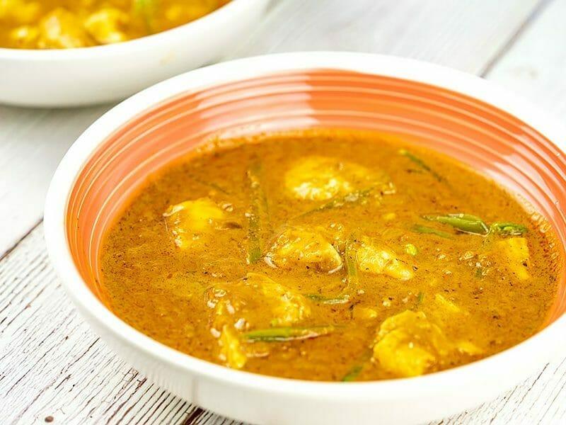 Curry de poisson au lait de coco au Thermomix