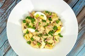 Salade de pommes de terre au bacon au Thermomix