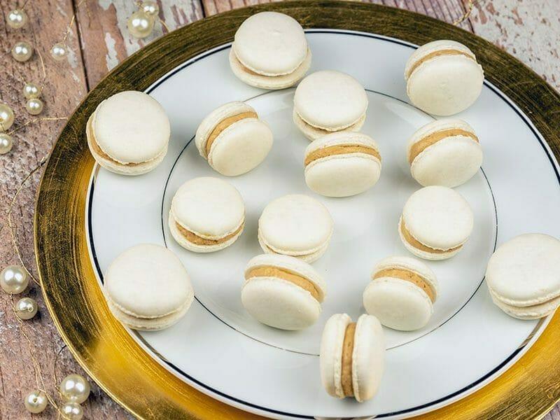 Macarons salés au foie gras au Thermomix
