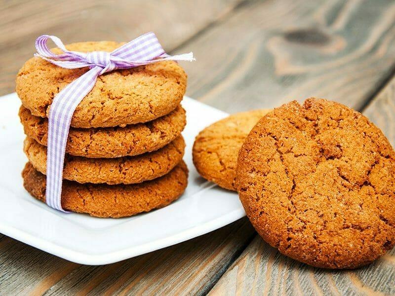 Biscuits aux flocons d'avoine et amandes au Thermomix