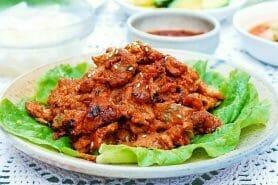 Dwaeji Bulgogi – Porc épicé à la coréenne au Thermomix