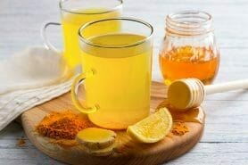 Infusion citron, gingembre et miel au Thermomix