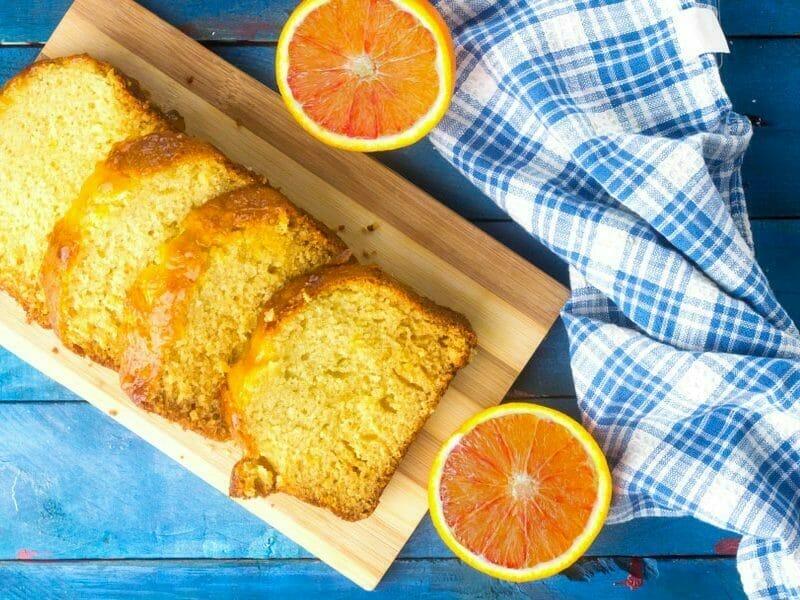 Cake à l'orange sanguine au Thermomix