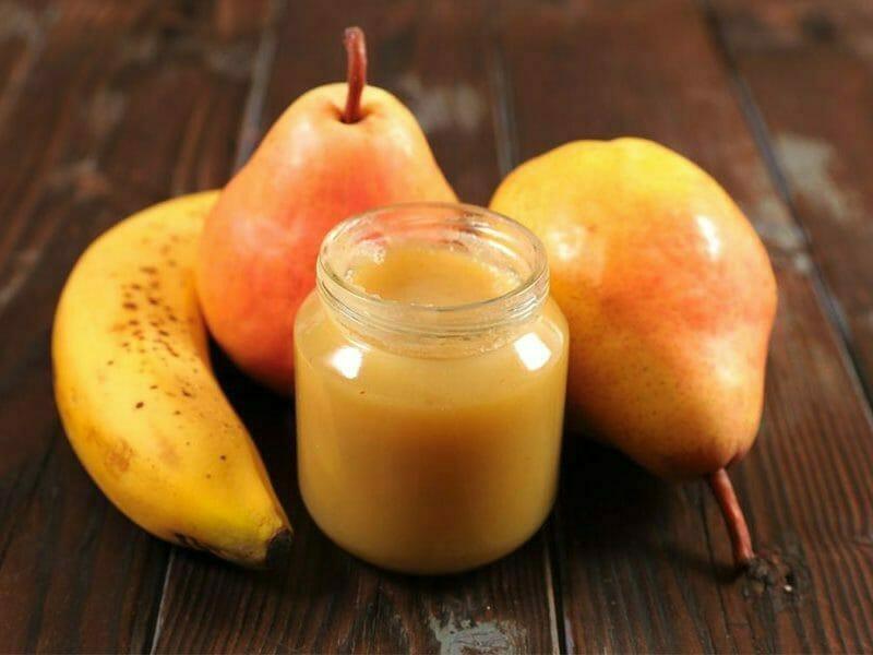 Compote poires et bananes au Thermomix