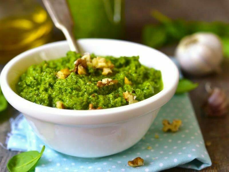 Pesto d'épinards au Thermomix