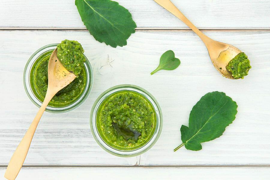 Pesto aux fanes de radis au Thermomix