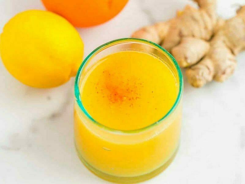 Shot gingembre orange au Thermomix