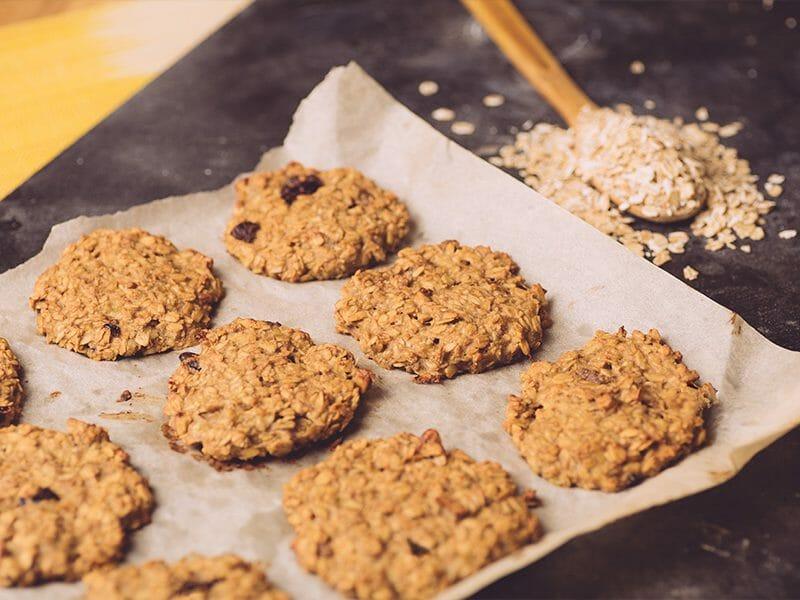 Biscuits tendres aux flocons d'avoine au Thermomix