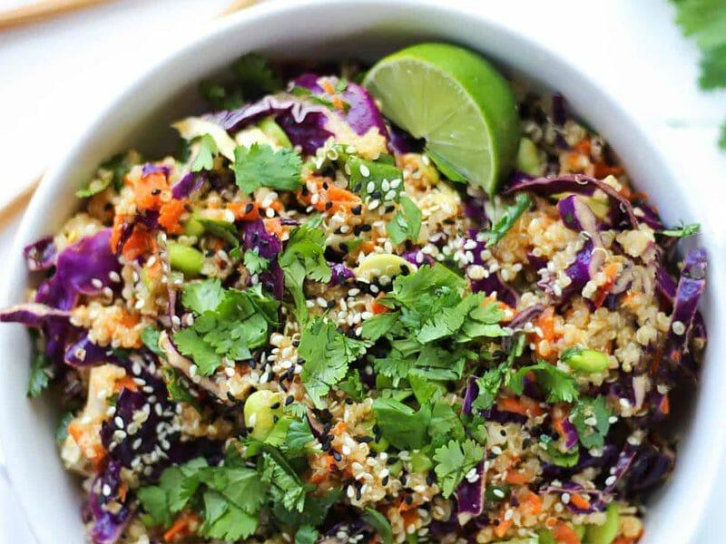 Salade Thaï de quinoa au Thermomix