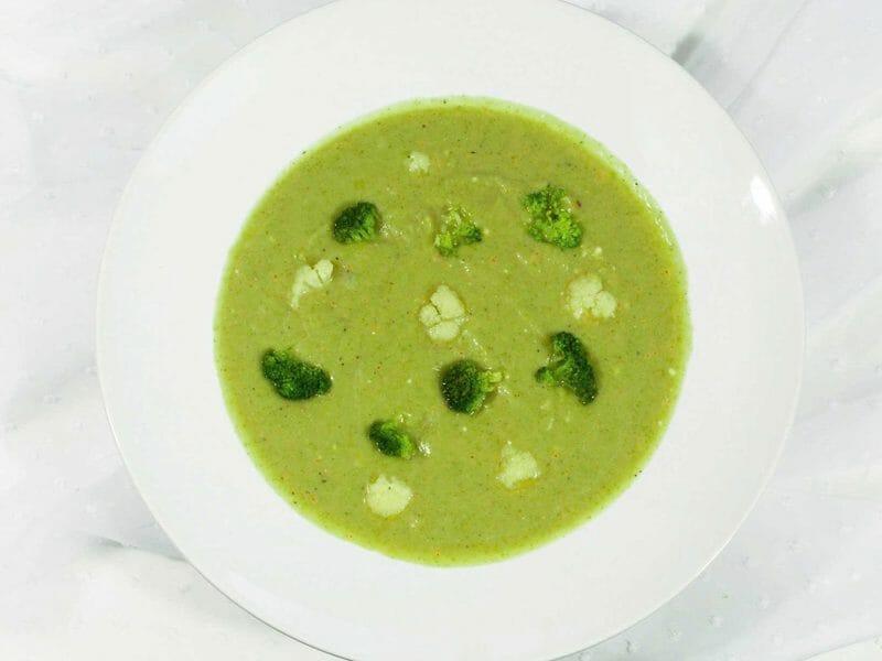 Soupe chou-fleur et brocoli au Thermomix
