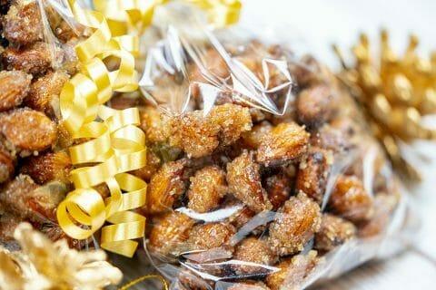 Amandes grillées à la cannelle et au miel Thermomix par Minou