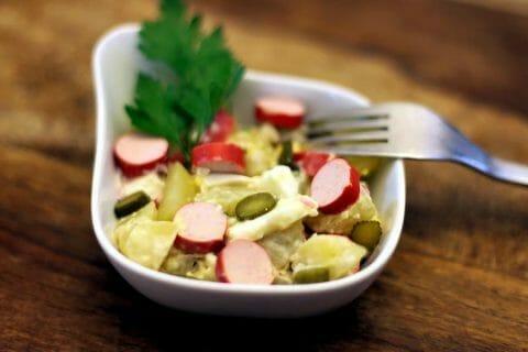 Salade strasbourgeoise Thermomix par Minou