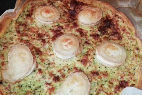 Tarte courgette, jambon & chèvre Thermomix par marianne2684