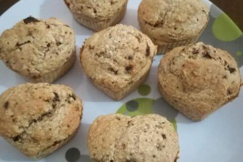 Muffins au son d'avoine et aux pépites de chocolat Thermomix par Tuyet_van