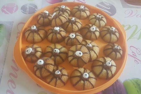 Spider cookies (cookies araignées) Thermomix par Nita Maelange