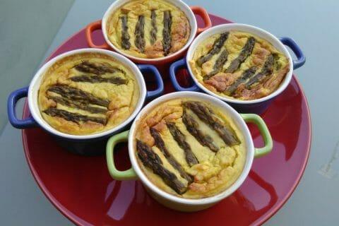 Flan aux asperges et parmesan Thermomix par CAMIRINA