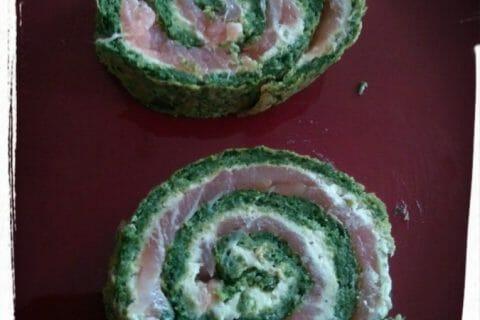 Roulé aux épinards, saumon et Boursin Thermomix par CAMIRINA