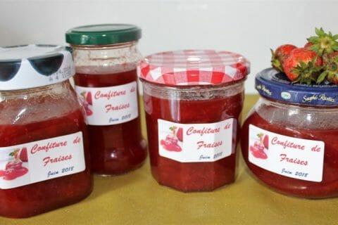 Confiture de fraises Thermomix par Erghy