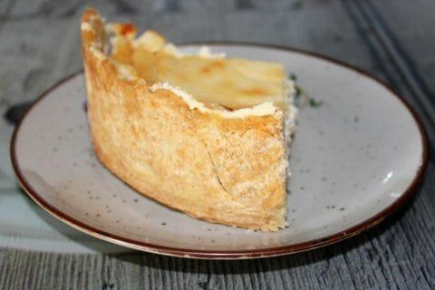Tarte au fromage blanc Thermomix par Erghy