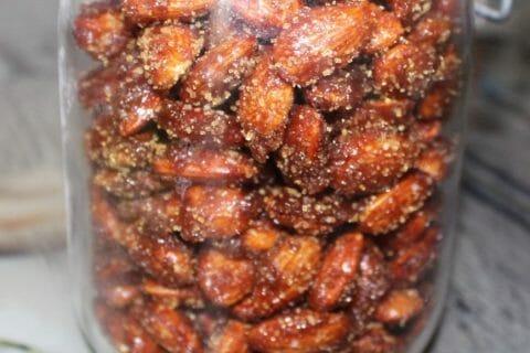 Amandes grillées à la cannelle et au miel Thermomix par Erghy