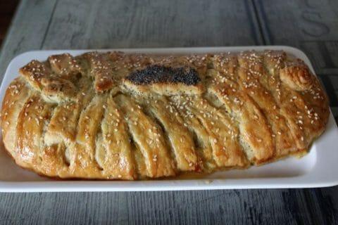 Feuilleté saumon et poireaux Thermomix par Erghy