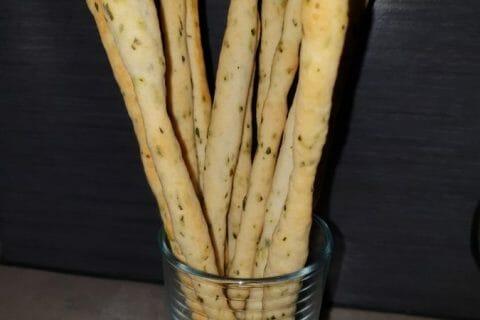 Gressins parmesan basilic Thermomix par Nati